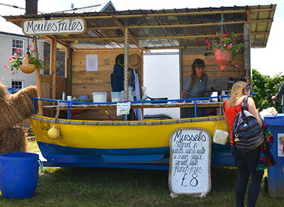 food at sark folk fest