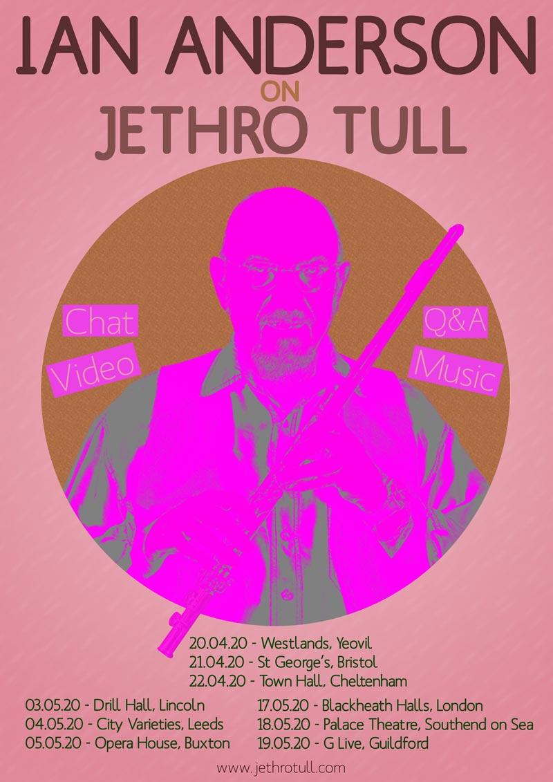 ian anderson on jethro Tull tour dates