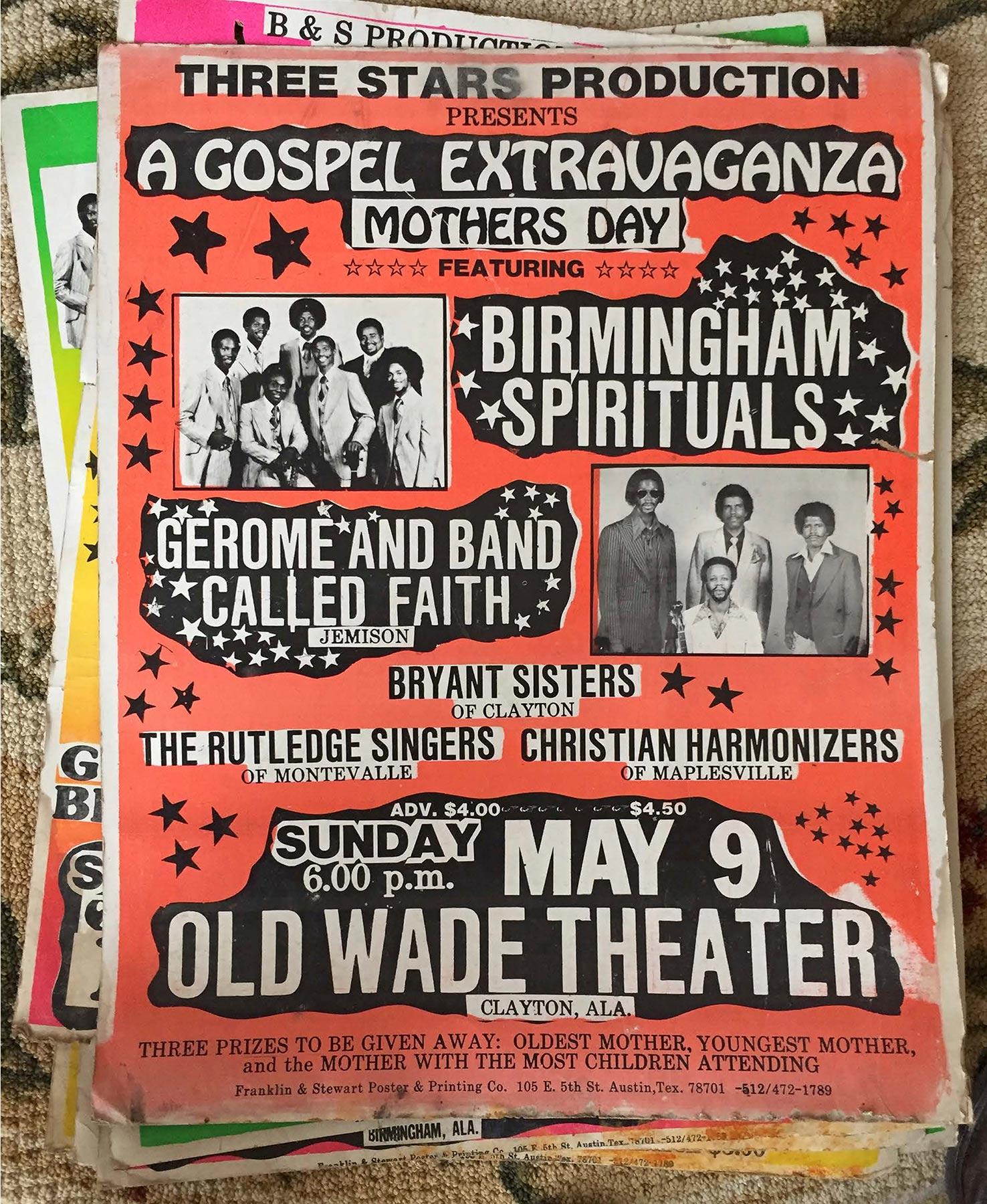 gospel music flyers